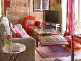 时尚混搭loft 5万装36平单身公寓