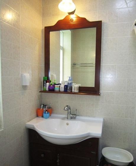 北欧小清新卫生间台盆设计图片