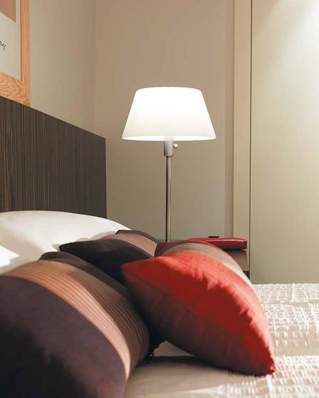 现代简约风格一居室温馨暖色调5-10万50平米设计图