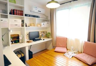 小清新书房榻榻米设计效果图