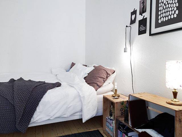 简约简洁卧室效果图