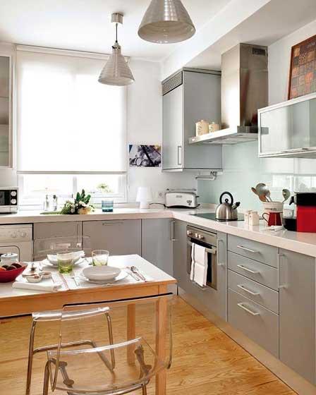 简约简洁厨房设计效果图