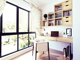 打造强收纳书房 12张书柜设计图欣赏