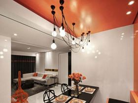 温馨进餐氛围 16款餐厅吊顶设计