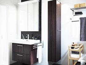 11張宜家浴室柜設計圖 簡單實用