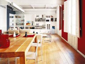 8萬裝93平米二居裝修設計 打造現代暖色調空間