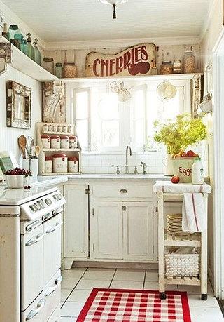 小户型阳台厨房效果图