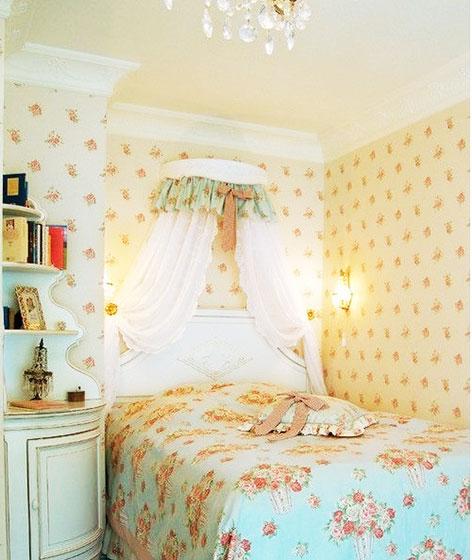 卧室装潢设计图 粉紫豪华公主卧室  相关标签 卧室装潢设计图 可爱