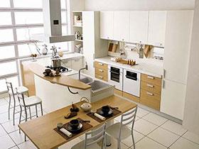 小空间极致运用 14张3米厨房装修效果图