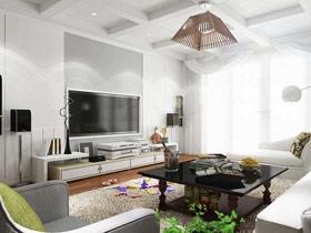 打造经典客厅 16款经典电视背景墙