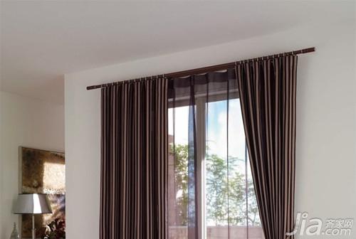 窗帘支架安装图解
