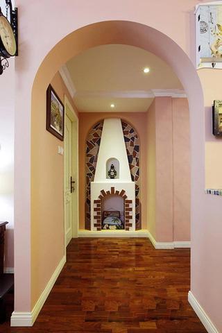 地中海风格10-15万130平米婚房家装图片