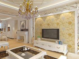 浪漫欧式装修 15款欧式背景墙设计