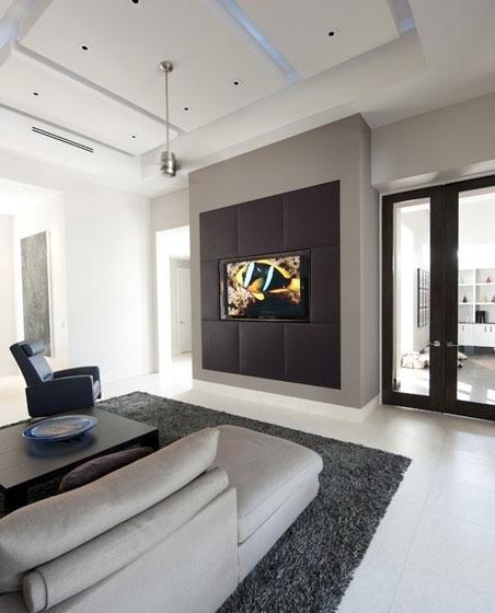 小平米电视背景墙效果图