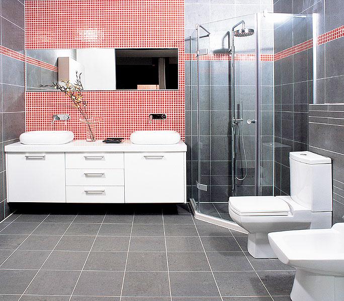 白色浴室柜图片