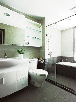 小型浴室柜图片