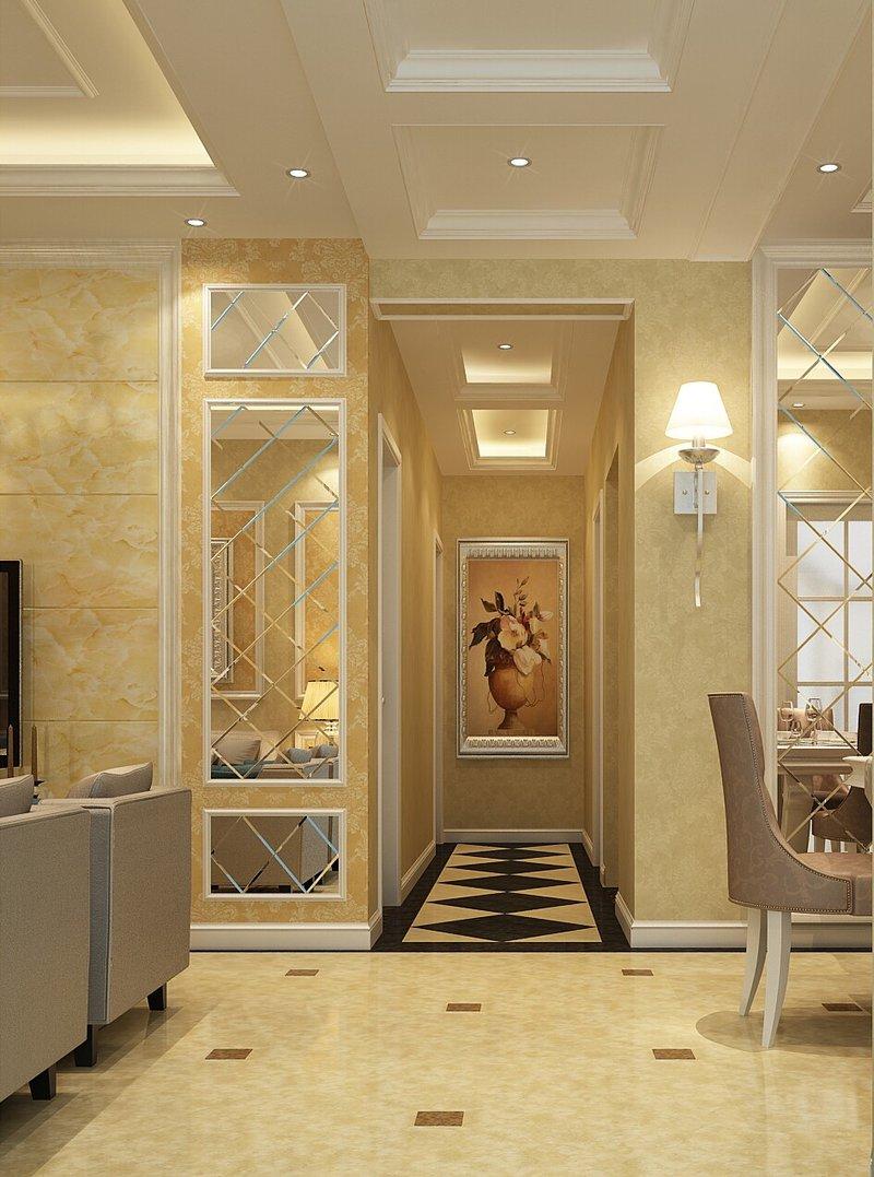 15 20万130平米欧式三居室装修效果图,欧式风格装修案例效果图 齐高清图片