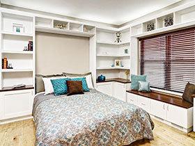13张小户型卧室飘窗效果图 设计时尚