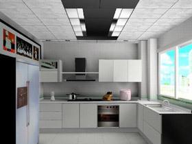 厨房整洁有妙招 15款厨房吊顶图片