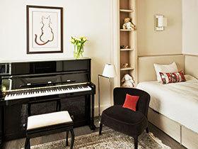 小房间卧室家具摆设图片 18款舒适卧室布置