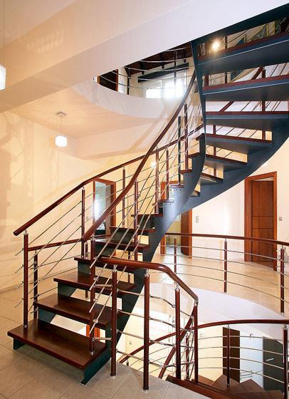 镂空楼梯效果图