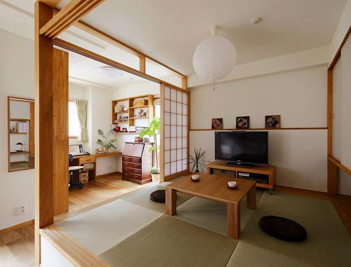 日式榻榻米和室图片