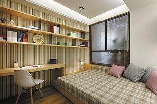 小书房榻榻米床效果图