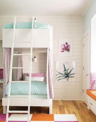 儿童房双层床效果图