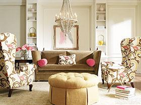 尊贵欧式新古典客厅样板房欣赏