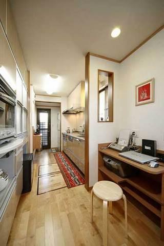 日式风格三居室温馨10-15万70平米效果图