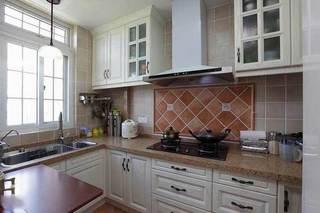 简欧高雅厨房设计效果图