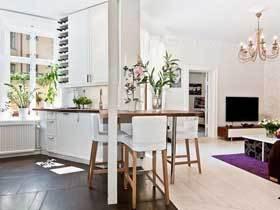 复古北欧混搭不规则公寓 好的设计因地适宜