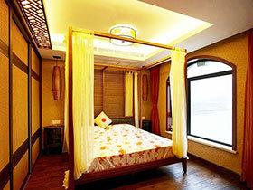 13张方形卧室吊顶效果图 稳重大气