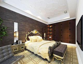 石膏板卧室吊顶图