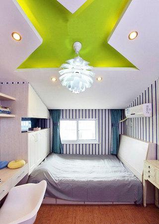 个性卧室吊顶造型效果图