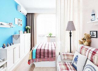 客厅与卧室隔断墙装修效果图