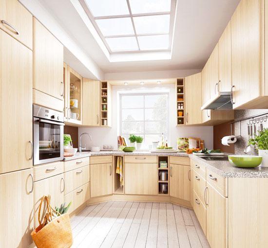 灰色厨房吊顶效果图图片
