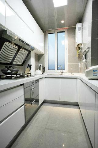 灰色厨房吊顶效果图