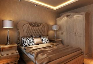 欧式原木衣柜图片