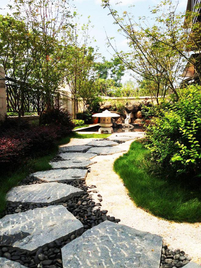 日式庭院景觀設計圖