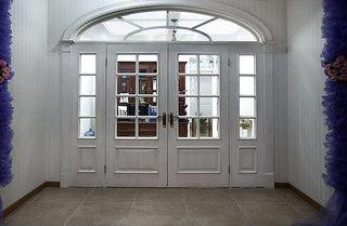 白色欧式木门效果图片