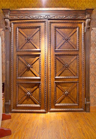 中式木门设计效果图