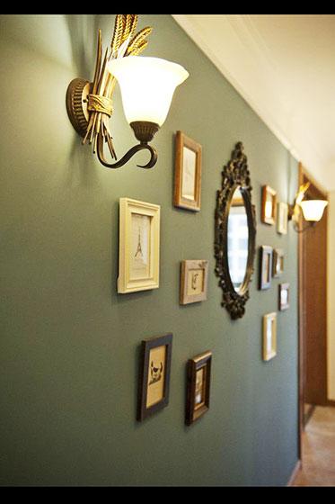 客厅壁灯效果图设计图片