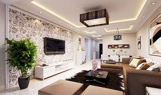 电视墙壁纸设计