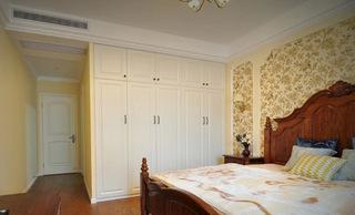 地中海整体卧室定制衣柜图片