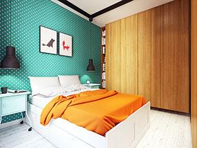 内墙壁纸效果图 14款经典墙面设计