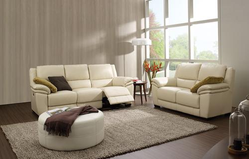 时尚米色客厅沙发沙发图片