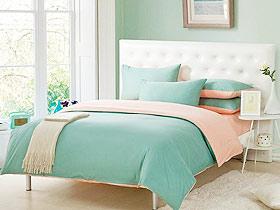 小清新臥室 15款臥室床頭軟包圖片