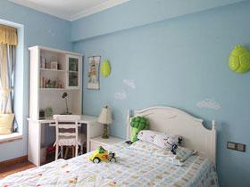 蓝色睡眠空间 13款儿童床设计图