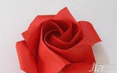 卡纸手工制作玫瑰花 手工制作玫瑰花图解